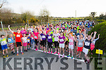 At the Start of the Kilmurry NS 5km Fun Run on Friday