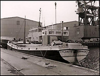 BNPS.co.uk (01202 558833)<br /> Pic: Collect/BNPS<br /> <br /> In August 1958 Xylonite was sold to The Greenhithe Lighterage Company Ltd, which was owned by the Tester family who converted it to a motor barge.<br /> <br /> A stunning sailing barge used in the making of the new Christopher Nolan epic Dunkirk is on the market for &pound;425,000.<br /> <br /> Xylonite features in the highly anticipated war film which stars Tom Hardy, Mark Rylance, Cillian Murphy and former One Direction singer Harry Styles in his first film role.<br /> <br /> Although it was not involved in the real Operation Dynamo - when multiple Thames barges went across the Channel to help the Allied soldiers stranded on the beach at Dunkirk in 1940 - Xylonite was built in 1926 and its exterior has changed very little from its pre-war days, which made it perfect for the movie.<br /> <br /> But inside the 86ft boat has been transformed into a stunning houseboat with a spacious open plan living area, fully-fitted galley and bedrooms, whilst keeping many period features.