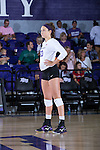 Amy Pilat (23) of the High Point Panthers during the match against the Liberty Flames at the Millis Athletic Center on September 23, 2016 in High Point, North Carolina.  The Panthers defeated the Flames 3-1.   (Brian Westerholt/Sports On Film)
