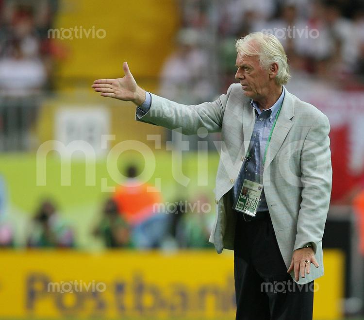 Fussball WM 2006 Vorrunde Paraguay - Trinidad & Tobago Trainer Leo BEENHAKKER (TRI)