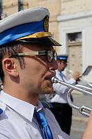 Musiker in Marsaxlokk, Malta, Europa