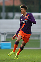 Felix Nmecha of Manchester City U19's during Lyon Under-19 vs Manchester City Under-19, UEFA Youth League Football at Groupama OL Academy on 27th November 2018