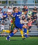 18 September 2013: Hofstra University Pride Midfielder/Forward Maid Memic, a Junior from Kozarac, Bosnia, in action against the against the University of Vermont Catamounts at Virtue Field in Burlington, Vermont. The Catamounts defeated the visiting Pride 2-1. Mandatory Credit: Ed Wolfstein Photo *** RAW (NEF) Image File Available ***