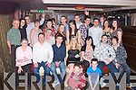 KEY TO THE DOOR: Natasha Bustard, Cahermoneen, Tralee (seated centre) enjoying a great time celebrating her 21st birthday with family and friends at the Abbey Inn, Tralee on Saturday...