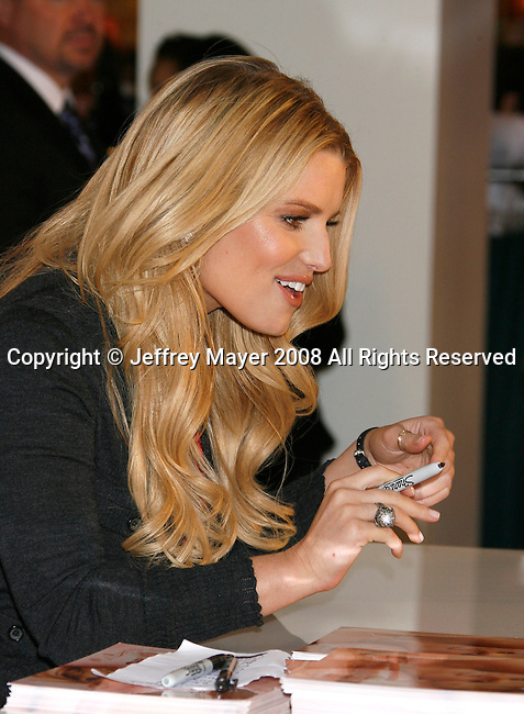 "COSTA MESA, CA. - December 13:  Actress/Singer Jessica Simpson Launches Her New Fragrance ""Fancy"" at Macy's South Coast Plaza on December 13, 2008 in Costa Mesa, California."