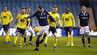 Millwall's Ryan Tunnicliffe and Blackburn Rovers' Harrison Reed<br /> <br /> Photographer Rob Newell/CameraSport<br /> <br /> The EFL Sky Bet Championship - Millwall v Blackburn Rovers - Saturday 12th January 2019 - The Den - London<br /> <br /> World Copyright &copy; 2019 CameraSport. All rights reserved. 43 Linden Ave. Countesthorpe. Leicester. England. LE8 5PG - Tel: +44 (0) 116 277 4147 - admin@camerasport.com - www.camerasport.com