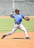 Antonio Sepulveda - 2010 Missoula Osprey - Pioneer League, playing against the Ogden Raptors at Lindquist Field, Ogden, UT - 07/25/2010.Photo by:  Bill Mitchell/Four Seam Images..
