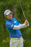 Haru Nomura (JPN) watches her tee shot on 11 during round 2 of the U.S. Women's Open Championship, Shoal Creek Country Club, at Birmingham, Alabama, USA. 6/1/2018.<br /> Picture: Golffile | Ken Murray<br /> <br /> All photo usage must carry mandatory copyright credit (&copy; Golffile | Ken Murray)