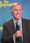 "Actor Henry Winkler attends press event to introduce the cast and creators of the new Broadway play ""The Performers""at the Hard Rock Cafe on Tuesday, Sept. 25, 2012 in New York. (Photo by © Walter McBride/WM Photography//AP)"