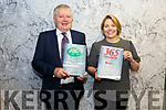 Jack & Tracy Fitzpatrick from the Market House Cahersiveen received two Awards in Dublin '365 Customer Care Program' and Top of the Tree 'Best Overall Fourcourt'.