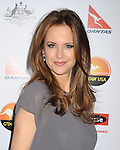 LOS ANGELES, CA - JANUARY 12: Kelly Preston attends the 2013 G'Day USA Black Tie Gala at JW Marriott Los Angeles at L.A. LIVE on January 12, 2013 in Los Angeles, California.