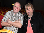 Pat and Barbara Fogerty at The High Kings at St. Kevins Community Centre Phillipstown. Photo:Colin Bell/pressphotos.ie