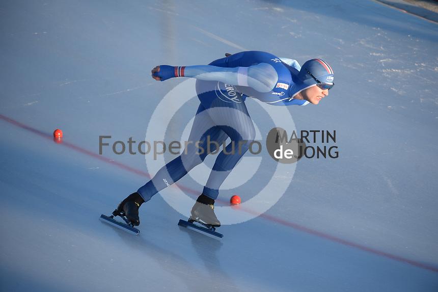 SPEED SKATING: COLLALBO: Arena Ritten, 11-01-2019, ISU European Speed Skating Championships, Håvard Holmefjord Lorentzen (NOR), ©photo Martin de Jong