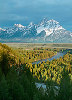 Snake River and Teton Range, Grand Teton National Park, Wyoming