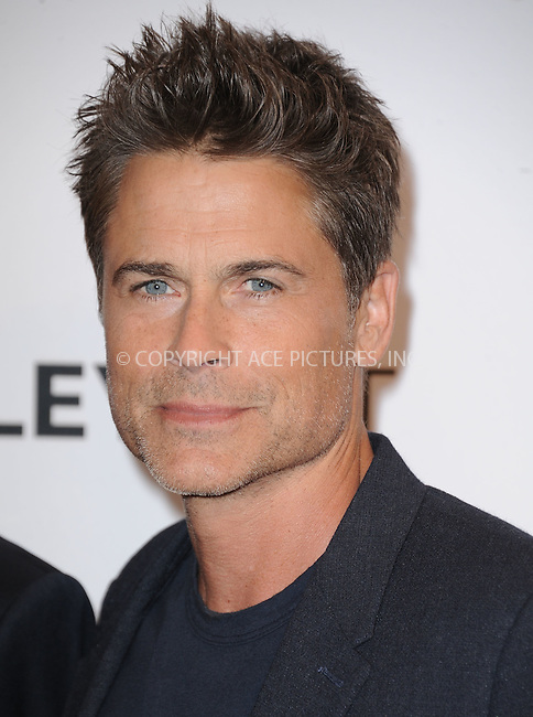 WWW.ACEPIXS.COM<br /> <br /> September 15 2015, LA<br /> <br /> Actor Rob Lowe of 'The Grinder' attending The Paley Center for Media's PaleyFest 2015 Fall TV Preview for FOX at The Paley Center for Media on September 15, 2015 in Beverly Hills, California. <br /> <br /> <br /> By Line: Peter West/ACE Pictures<br /> <br /> <br /> ACE Pictures, Inc.<br /> tel: 646 769 0430<br /> Email: info@acepixs.com<br /> www.acepixs.com