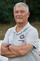 Betreuer Hans-Peter Becker (RW Walldorf) - Mörfelden-Walldorf 04.08.2020: Mannschaftsvorstellung von Hessenligist Rot-Weiss Walldorf für die Saison 2020/21
