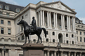 Duke of Wellington statue & Bank of England, Threadneedle Street, City of London
