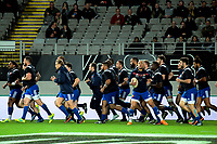 France warms up for the Steinlager Series international rugby match between teh New Zealand All Blacks and France at Eden Park in Auckland, New Zealand on Saturday, 9 June 2018. Photo: Dave Lintott / lintottphoto.co.nz