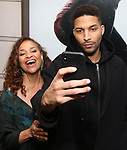 Debbie Allen and Norman Nixon Jr. attends the Broadway Opening Night of  'Saint Joan' at the Samuel J. Friedman Theatre on April 25, 2018 in New York City.