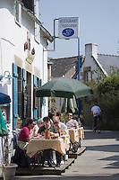 """Europe/France/Bretagne/56/Morbihan/Golfe du Morbihan/Ile-Aux-Moines/Locmiquel: Restaurant  """" L' Hippocampe"""""""