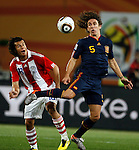Carlos Puyol, Soccer Football - 2010 FIFA World Cup - Johannesburg, South Africa, Saturday, 03, July, 2010. Round of eight, quarter-finals, Spain vs Paraguay, Ellis Park Stadium 03.7.2010. (credit & photo: Pedja Milosavljevic / +381 64 1260 959 / thepedja@gmail.com / STARSPORT )