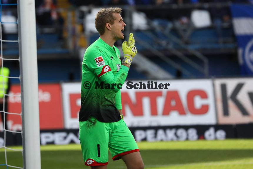 Torwart Jonas Loessl (1. FSV Mainz 05)- 11.03.2017: SV Darmstadt 98 vs. 1. FSV Mainz 05, Johnny Heimes Stadion am Boellenfalltor