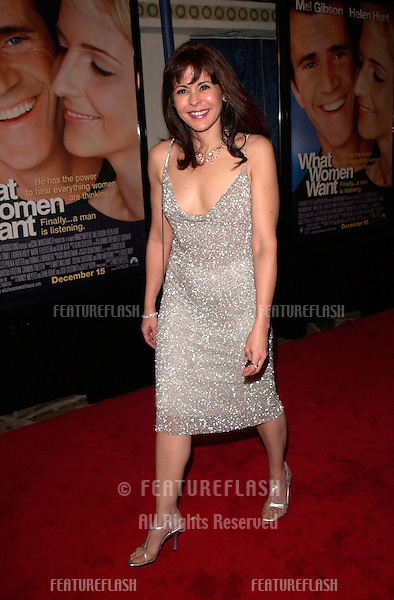Actress MARIA CONCHITA ALONSO at the world premiere, in Los Angeles, of What Women Want..13DEC2000.  © Paul Smith / Featureflash