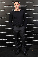 Miguel Angel Silvestre attends the Emporio Armani Boutique opening at Serrano street in Madrid, Spain. April 08, 2013. (ALTERPHOTOS/Caro Marin) /NortePhoto