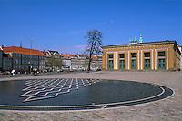 Thorvaldsens Museum in Kopenhagen, Daenemark