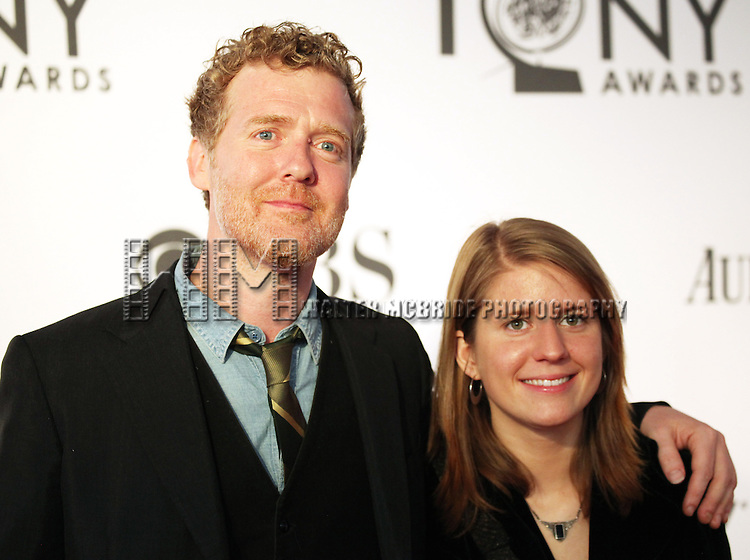 Glen Hansard and Marketa Irglova pictured at the 66th Annual Tony Awards held at The Beacon Theatre in New York City , New York on June 10, 2012. © Walter McBride / WM Photography