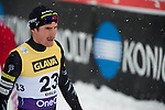 HOLMENKOLLEN, OSLO, NORWAY - March 16: Taylor Fletcher of USA after the cross country 15 km (2 x 7.5 km) competition at the FIS Nordic Combined World Cup on March 16, 2013 in Oslo, Norway. (Photo by Dirk Markgraf)