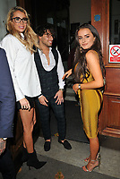 guest, Kem Cetinay and Amber Davies at the Specsavers' Spectacle Wearer of the Year Awards 2017, 8 Northumberland Avenue, Northumberland Avenue, London, England, UK, on Tuesday 10 October 2017.<br /> CAP/CAN<br /> &copy;CAN/Capital Pictures