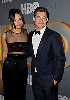 LOS ANGELES, USA. September 23, 2019: Adam DeVine & Chloe Bridges at the HBO post-Emmy Party at the Pacific Design Centre.<br /> Picture: Paul Smith/Featureflash