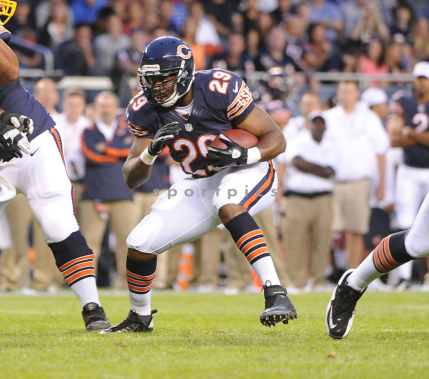 MICHAEL BUSH (29), of the Chicago Bears, in action during the Bears game against the Washington Redskins on August 18, 2012 at Soldier Field in Chicago, IL. The Bears beat the Redskins 33-31.