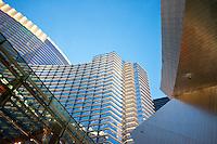 Aria and the City Center. Las Vegas, Nevada, USA