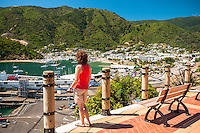 Views over Picton Harbour, Nelson Region, Marlborough, South Island, New Zealand
