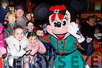 Sophie Boyle and Ava Griffin met Minnie Mouse at the Christmas in Killarney parade on Saturday evening