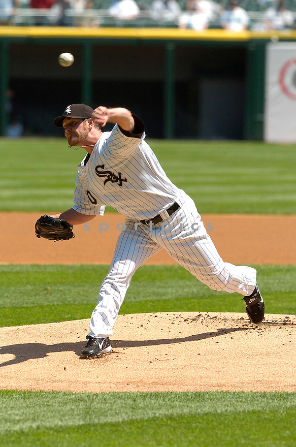 JOHN DANKS, of the Chicago White Sox , in action during the Yankees game against the New York Yankees in Chicago, Illinois  on May 16, 2007...White Sox win 5-3...DAVID DUROCHIK / SPORTPICS..