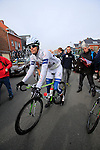 Luka Mezgec (Team Argos-Shimano) before the start of the 56th edition of the E3 Harelbeke, Belgium, 22nd  March 2013 (Photo by Eoin Clarke 2013)