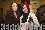 Christine Uí Chinneide (Glens) and Denise Uí Bheaglaoi (Feothanach) enjoying the Dingle Film Festival over the weekend.