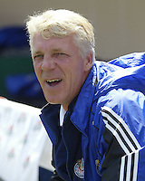 Chivas USA head coach Thomas Rongen before a 2005 MLS game between the San Jose Earthquakes and Chivas USA on April 9, 2005 at Spartan Stadium in San Jose, California.  The game ended in a 3-3 tie.  Credit: JN Santos/ISI