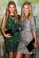 NEW YORK CITY, NY, USA - SEPTEMBER 08: Paris Hilton and Nicky Hilton arrive at the alice + olivia by Stacey Bendet Spring 2015 NYFW Presentation held at The Pierre Hotel on September 8, 2014 in New York City, New York, United States. (Photo by Celebrity Monitor)