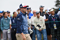 Zach Johnson (USA) watches his tee shot on 9 during round 1 of the 2019 US Open, Pebble Beach Golf Links, Monterrey, California, USA. 6/13/2019.<br /> Picture: Golffile | Ken Murray<br /> <br /> All photo usage must carry mandatory copyright credit (© Golffile | Ken Murray)