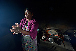 Teresa Diaz makes tortillas in San Luis, a small Mam-speaking Maya village in Comitancillo, Guatemala. Women in the community have worked together on several agricultural and animal raising projects with help from the Maya Mam Association for Investigation and Development (AMMID).