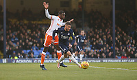 Southend United's Michael Kightly and Blackpool's Donervon Daniels<br /> <br /> Photographer Rob Newell/CameraSport<br /> <br /> The EFL Sky Bet League One - Southend United v Blackpool - Saturday 17th November 2018 - Roots Hall - Southend<br /> <br /> World Copyright &copy; 2018 CameraSport. All rights reserved. 43 Linden Ave. Countesthorpe. Leicester. England. LE8 5PG - Tel: +44 (0) 116 277 4147 - admin@camerasport.com - www.camerasport.com