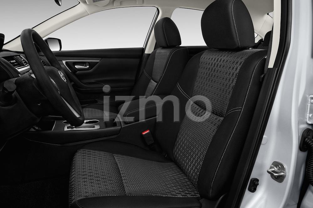 Front seat view of 2016 Nissan Altima S 4 Door Sedan Front Seat  car photos