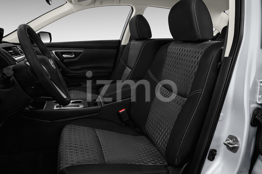 Front seat view of 2017 Nissan Altima S 4 Door Sedan Front Seat  car photos