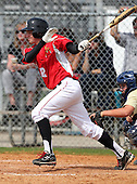 Clearwater Central Catholic Marauders varsity baseball against the Indian Rock Christian Golden Eagles at Indian Rocks High School on February 25, 2012 in Largo, Florida.  (Photo By Mike Janes Photography)