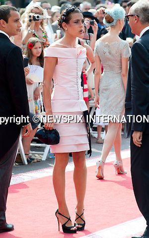 "MONACO ROYAL WEDDING .Charlotte Casiraghi..Guests Arrive at the Religious wedding of H.S.H Prince Albert II and Miss Charlene Wittstock in the Prince's Palace._Prince's Palace Monaco 01/07/2011..Mandatory Photo Credit: ©Dias/Newspix International..**ALL FEES PAYABLE TO: ""NEWSPIX INTERNATIONAL""**..PHOTO CREDIT MANDATORY!!: NEWSPIX INTERNATIONAL(Failure to credit will incur a surcharge of 100% of reproduction fees)..IMMEDIATE CONFIRMATION OF USAGE REQUIRED:.Newspix International, 31 Chinnery Hill, Bishop's Stortford, ENGLAND CM23 3PS.Tel:+441279 324672  ; Fax: +441279656877.Mobile:  0777568 1153.e-mail: info@newspixinternational.co.uk"
