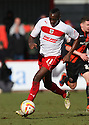 Lucas Akins of Stevenage. Stevenage v Sheffield United - npower League 1 -  Lamex Stadium, Stevenage - 16th March, 2013. © Kevin Coleman 2013.. . . .